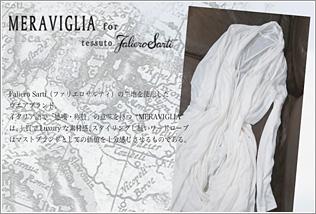 MERAVIGLIA for Faliero Sarti
